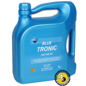 ARAL Blue Tronic 10W-40 5 л, моторное масло